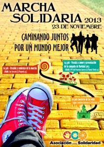 Cartel Marcha Solidaria 2013