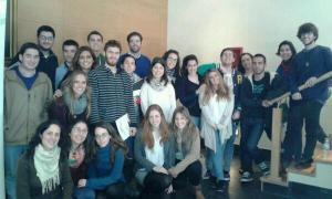 Voluntarios Sevillanos en Formación Voluntariado Febrero 2014 (Foto: @redentoristasev)