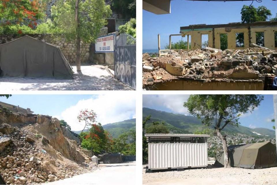 Fotos escuela y parroquia San Gerardo en Puerto Príncipe (Haití)