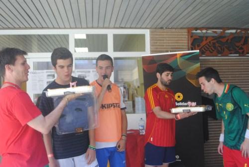 Celebrando cumpleaños durante el torneo