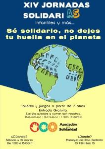 Cartel de las XIV Jornadas Solidarias Infantiles y mÁS