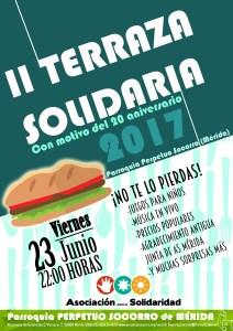 II Terraza Solidaria en AS Mérida