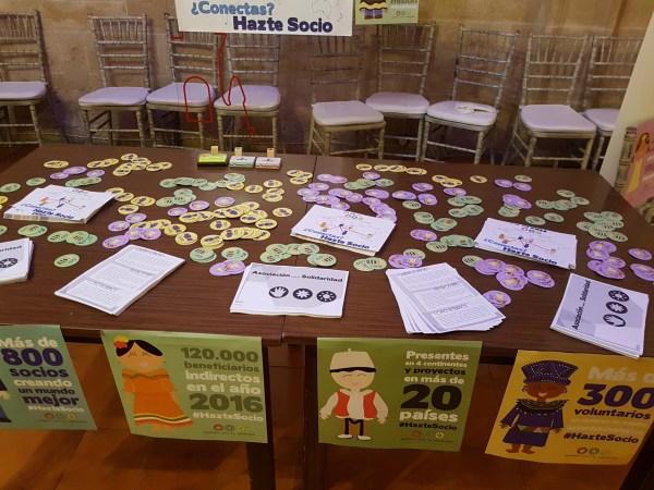 Material para la microcápsula de AS en El Espino 2017