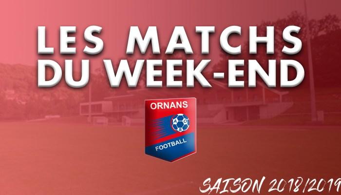 Visuel article des matchs du week-end de l'AS Ornans