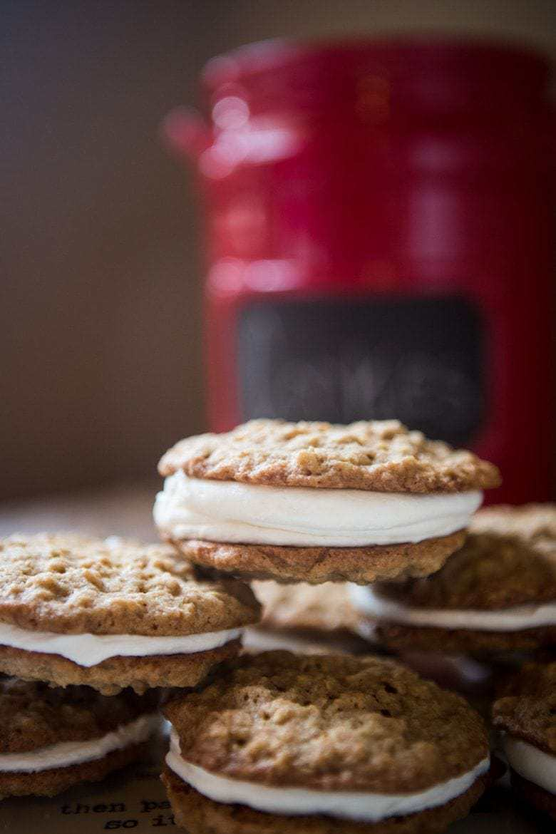 double stuff oatmeal cream pies