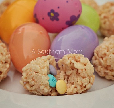 Surprise! Rice Krispie Treat Easter Eggs – Oh How They Torture Me