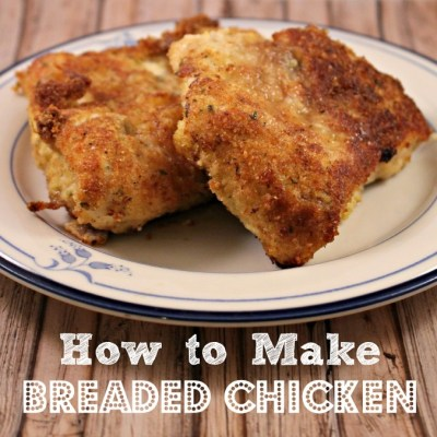 Breaded Chicken: How to Make Breaded Chicken Breast