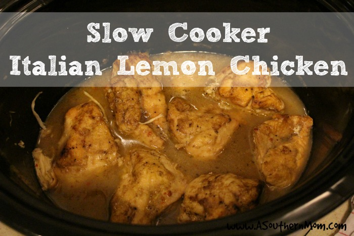 lemon italian chicken