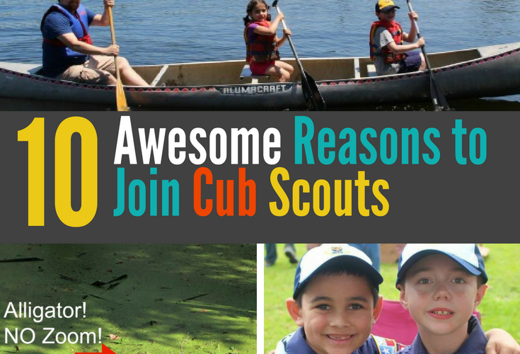 On the fence about signing up for Cub Scouts? My son has been in Cub Scouts since he was a first grade Tiger. It has been a constant in our lives ever since. It is the extracurricular that he enjoys the most and the one that has probably had the most positive effect on his life so far. Read the post to learn 10 of the BEST reasons to join Cub Scouts! #cubscouts #joincubscouts #scouting #cubscoutrecruitment