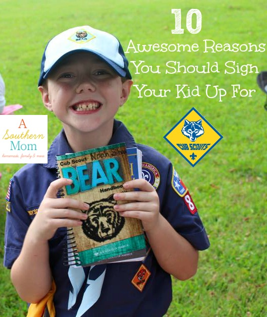 reasons to sign up for cub scouts