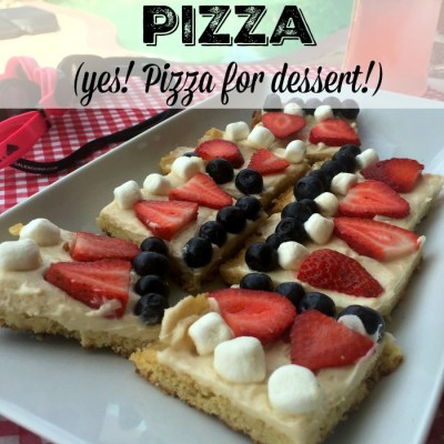 All Pizza, All Night – Dessert Pizza Recipe #RealTasteForRealLife