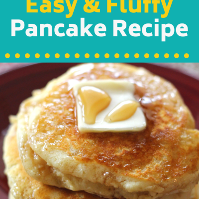 Easy From Scratch Pancake Recipe