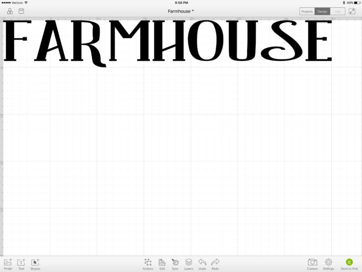 farmhouse tutorial