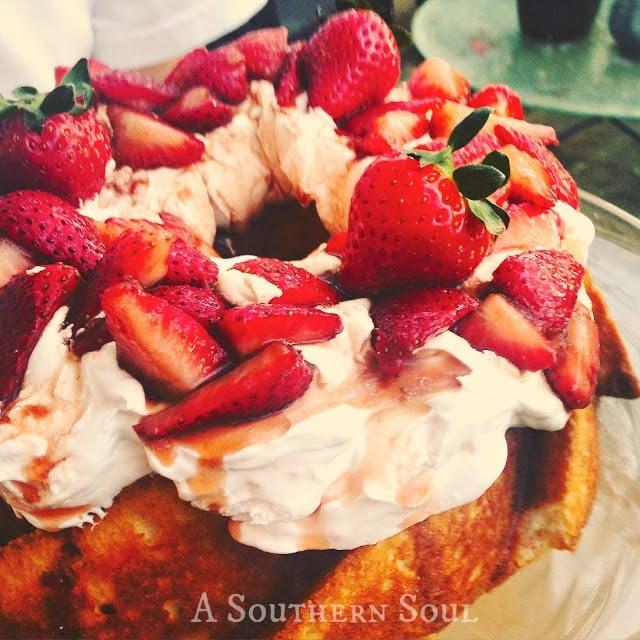 Sugar Balsamic Strawberries