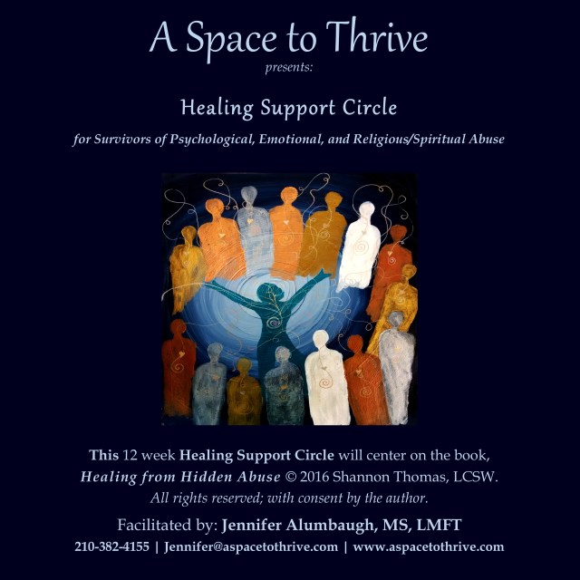 Healing Support Circle | A Space to Thrive