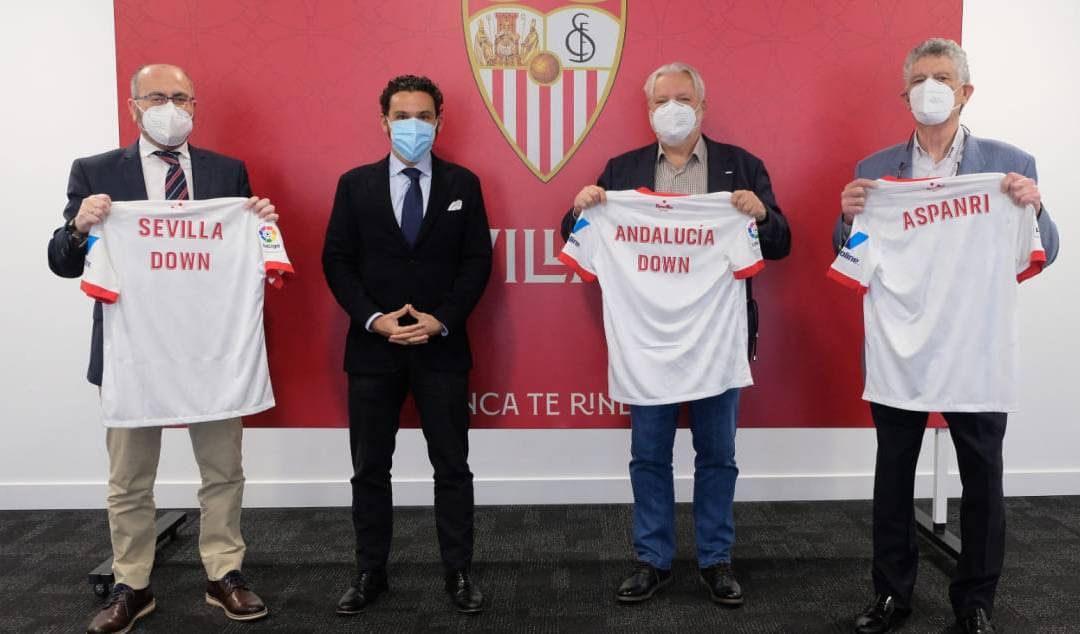 El Sevilla FC firma un convenio de colaboración para el desarrollo del Sevilla FC Genuine