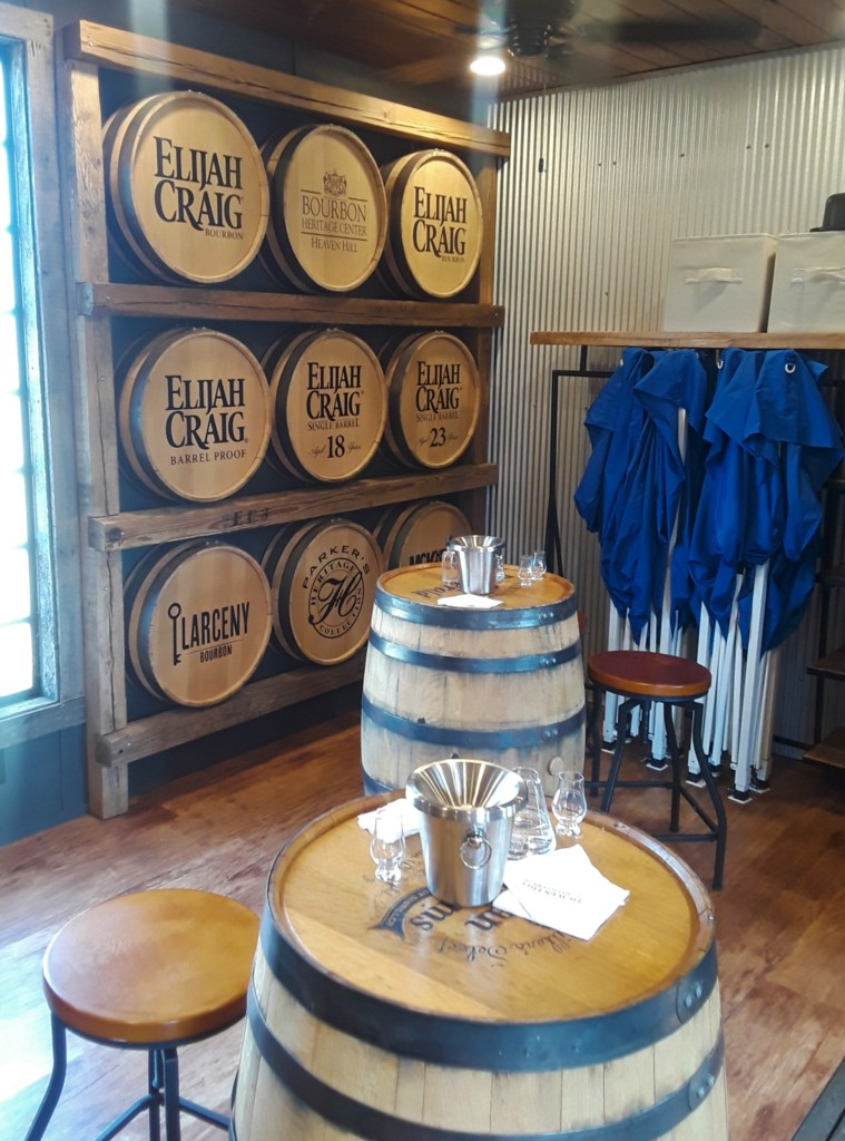 Heaven Hill tasting room