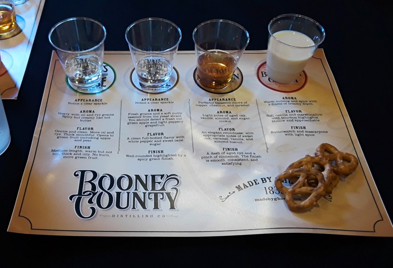 Boone County Distilling Co. tasting