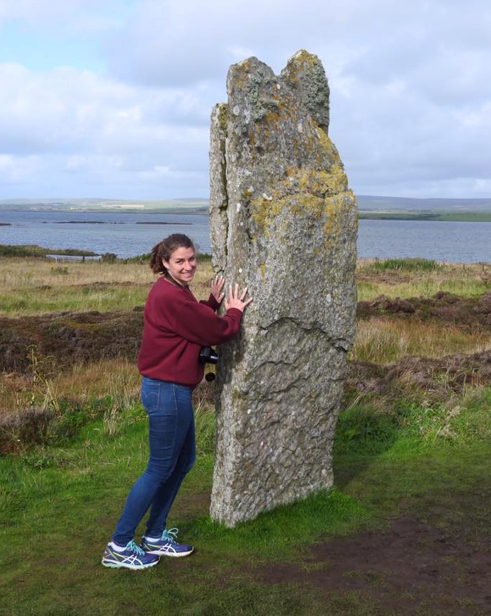 touching the standing stones