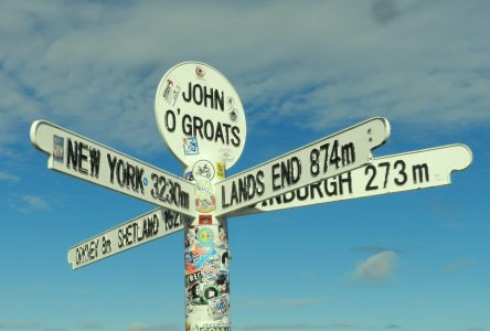 John O'Groats: Go On Till You Come to the End