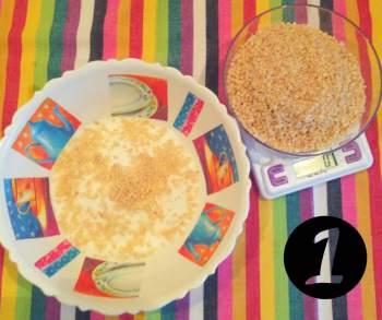 1.torta di Santiago - zucchero e mandorle - aspassoperlaspagna.it