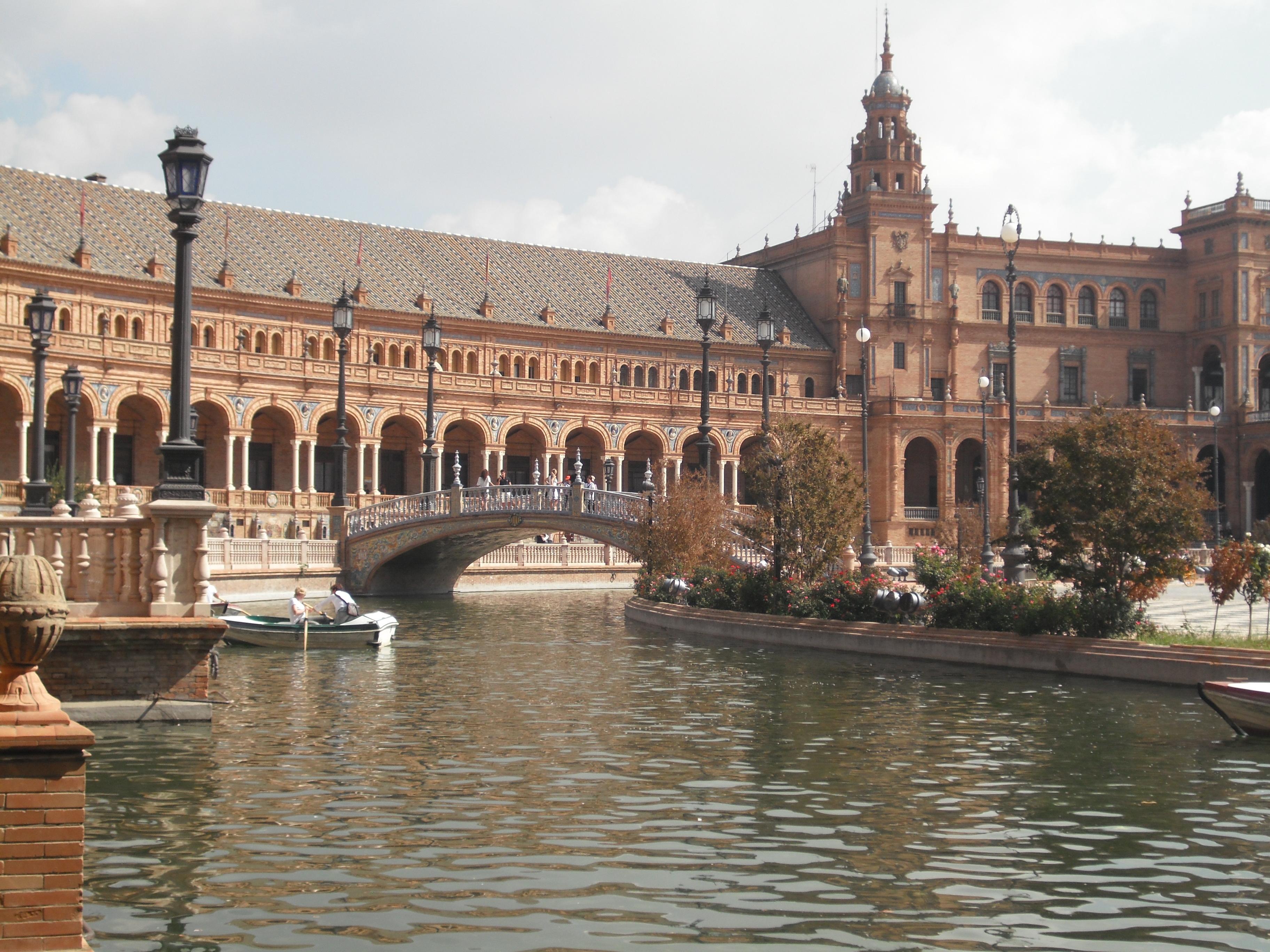 Plaza de España - vista - aspassoperlaspagna.it