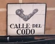 Lo strano aneddoto della Calle del Codo di Madrid