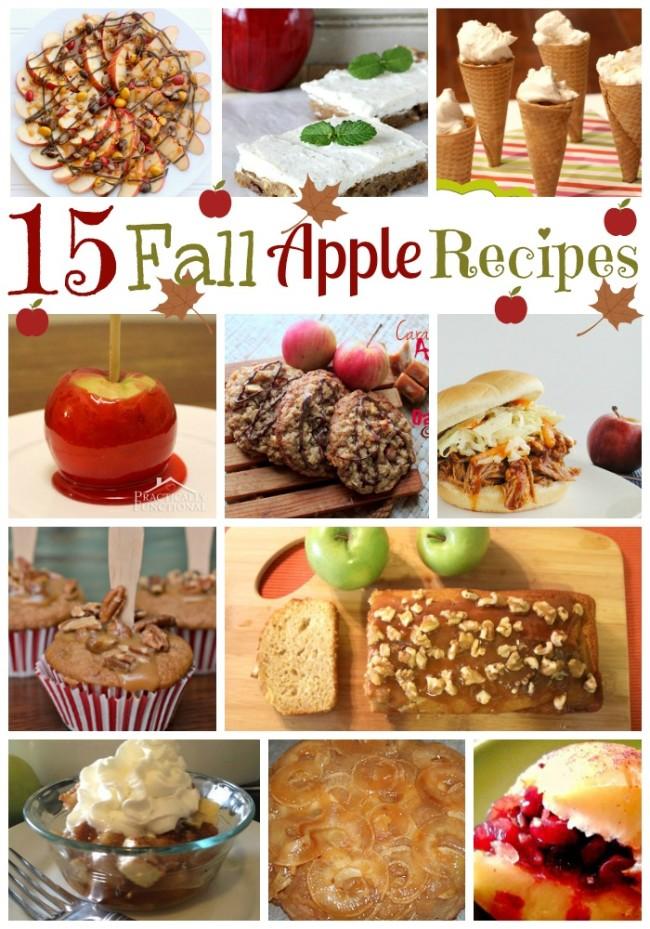 15 Fall Apple Recipes