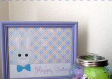 Hoppy Easter Easter Bunny Printable