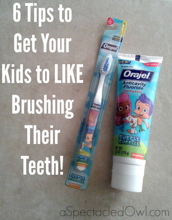 6 Tips to get your Kids to LIKE Brushing their Teeth #Smilestones