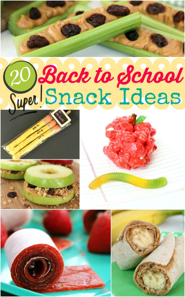 20 Super Back to School Snack Ideas