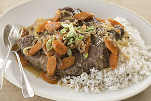 Asian-Style Pot Roast with Reynolds Oven Bags #ReynoldsKitchens