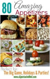 80 Amazing Appetizer Recipes