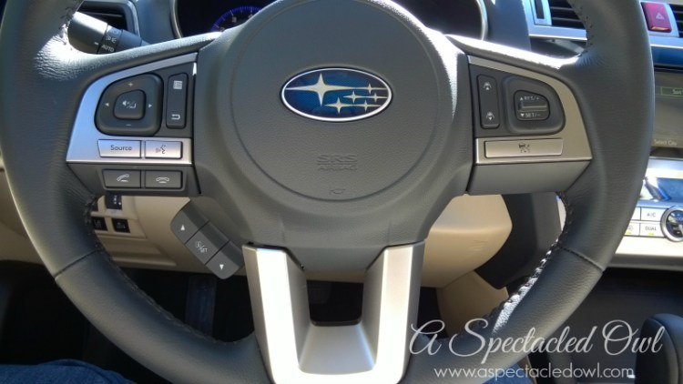 Riding in Style in the 2015 Subaru Legacy