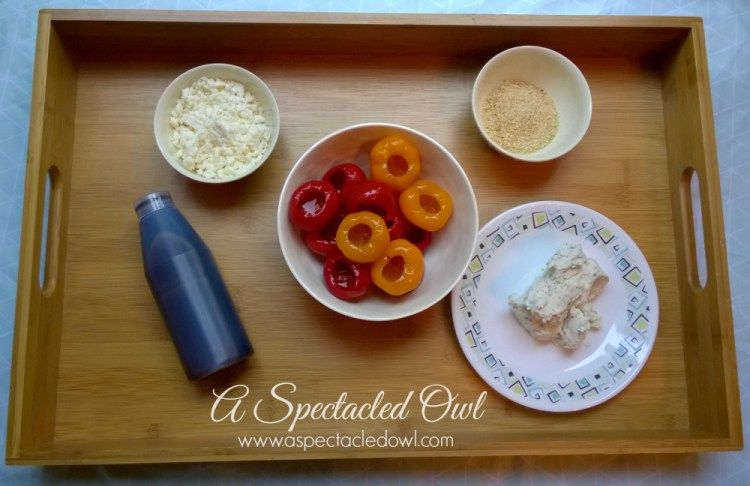 Feta Cheese & Goat Cheese Stuffed Peppadew Peppers