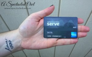 How I Budget with My American Express Serve® Cash Back Card