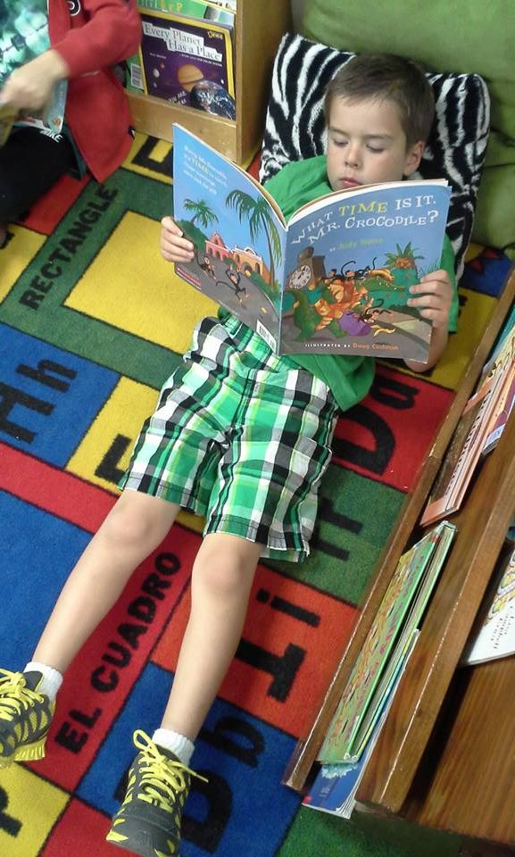 Reading to Your Kids at Any Age. I've written before about First 5 California and their Talk. Read. Sing.® program. This program teaches us the important of talking, reading and singing to your child from day one. First 5 California tells us that 90% of a child's brain develops in the first 5 years of life and that is HUGE!