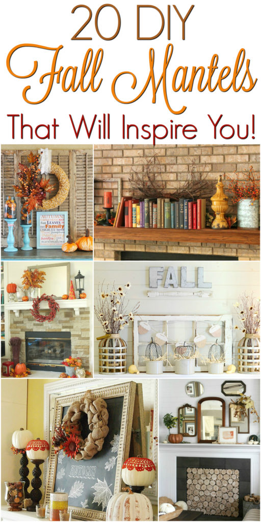 20 Fall Mantels That Will Inspire You