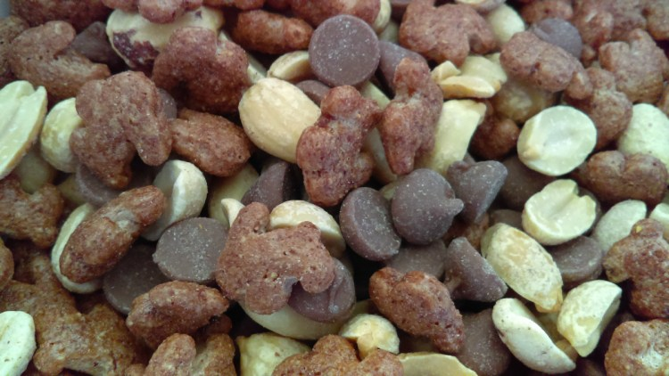 Chocolate Peanut Snack Mix