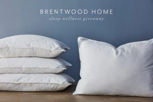 Brentwood Home Sleep Wellness Giveaway