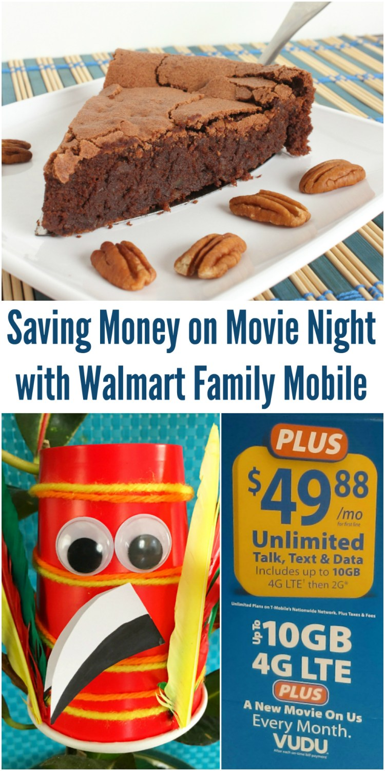 Saving Money on Movie Night with Walmart Family Mobile