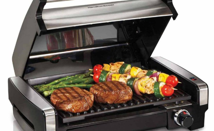Grill Any Time, Any Place With A Hamilton Beach Indoor