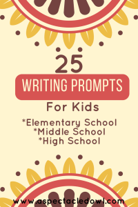 25 Writing Prompts for Kids