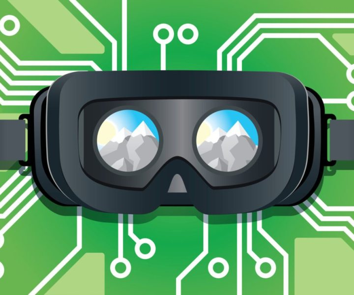 Virtual Reality Headsets (Head Mounted Displays/HMDs) zur Wiedergabe von 360-Grad-Video und VR Inhalten