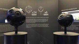 Facebook-Kameras Surround360 x24 und x6
