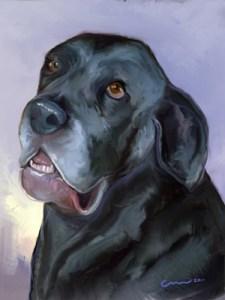 Painting of Neo Mastiff