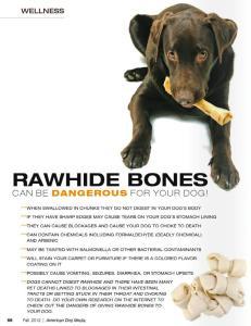 Rawhide Bones Graphic