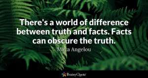 Truth vs Facts