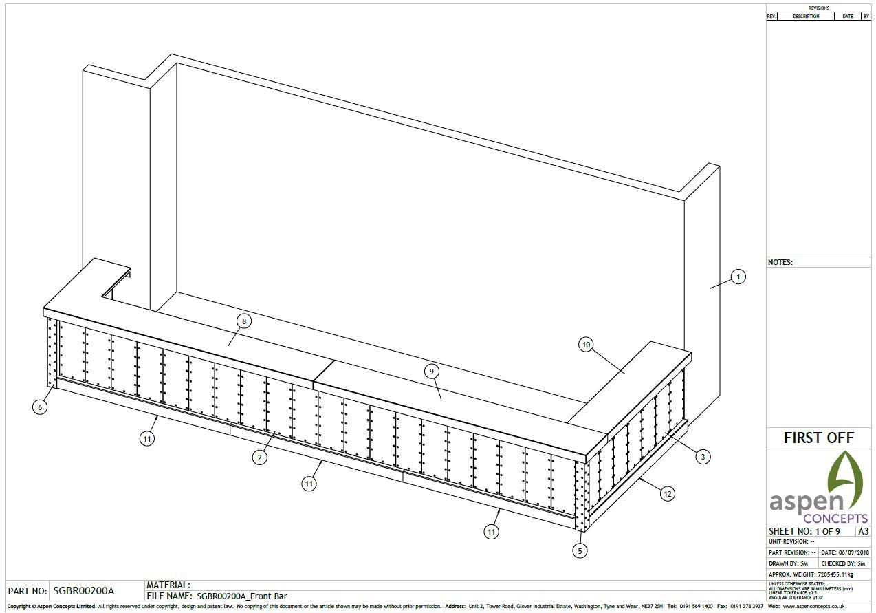 3d Design Drawing Usain Bolt Upstairs Bar