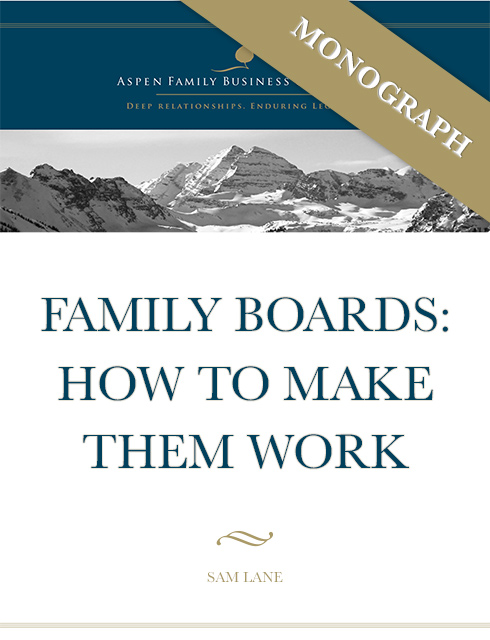 Family Boards - How to make them work